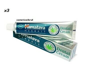 Himalaya Herbal Toothpaste / Dental Cream Gum Care Toothache Anti Decay 3 x 100g