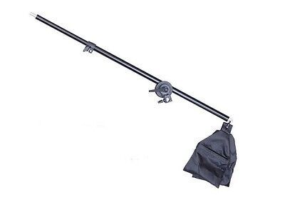 Photo Studio Overhead Boom Arm Top Light Stand with Head Grip for Softbox Light