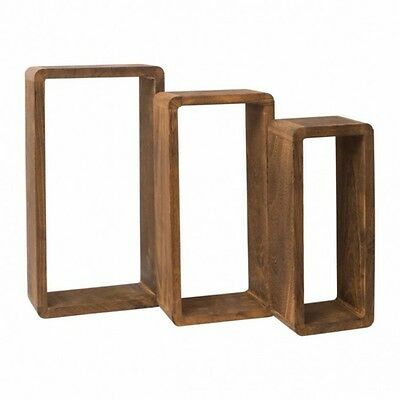 Retro Vintage Bookcase Wooden Small Shelves Storage Home Furniture Living Room