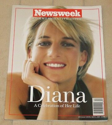 1997 Newsweek Commemorative Issue Diana A Celebration Of Her Life
