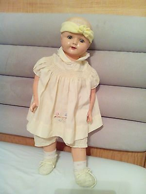 VINTAGE EFFANBEE COMPOSITION ROSEMARY 24' Doll