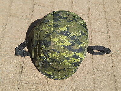 Army Style Helmet with CadPat Camo Cover one size fits most