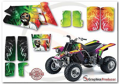 Yamaha Banshee Graphics Kit Full Decals Set Custom Design Snoop Dogg Theme
