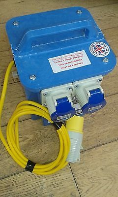New - Defender Portable Tool Step Down Transformer