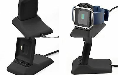 Fitbit Blaze Charger Charging Dock Station for Smartwatch w/ USB Charging Cable
