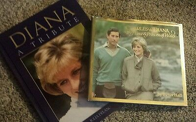 Charles and Diana plus Diana a Tribute- books
