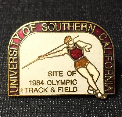 1984 Olympic of USC AthleticsTrack & Field Pin
