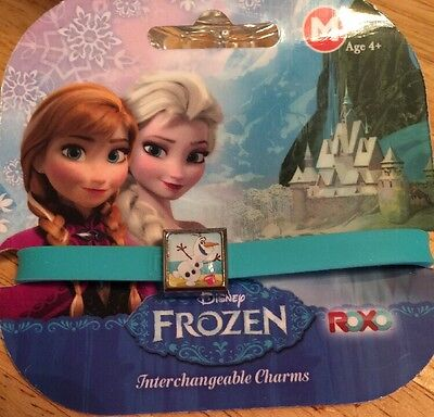New Disney Frozen Blue Olaf Charm Bracelet.