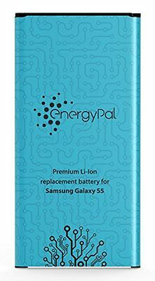 EnergyPal Galaxy S5 Battery, 2800 mAh Li-Ion Replacement Battery for Samsung...