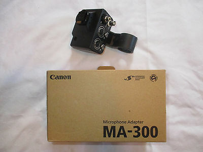 Canon Microphone Adapter MA-300 Dual XLR for GL2 & XL2 New
