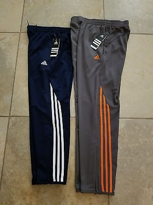 Boys Adidas Pants Navy or Gray Sizes:S,M,L,XL NWT New