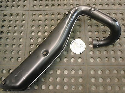 1978-80 Yamaha GT80 Black Exhaust Pipe #2F4-14610-A