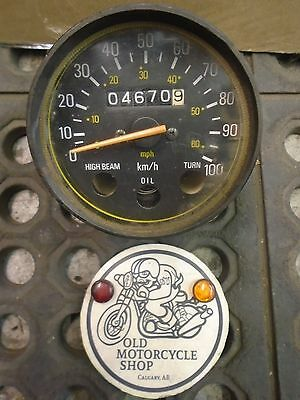 Yamaha 78-80 GT80 81-83 DT80 Speedometer Assembly OEM# 3J8-83510-A0-00