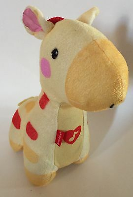 Fisher Price Giraffe Plush Yellow Soothe And Glow Stuffed Animal Baby Toy Music
