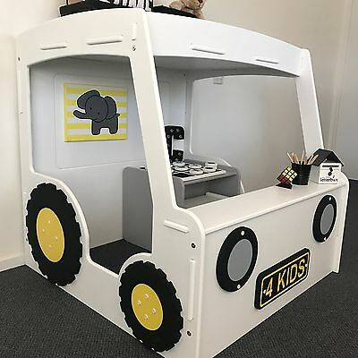 New Awesome Tractor Themed Cubby House - Quality Australian Made