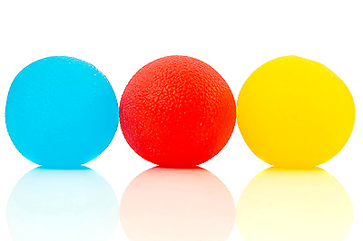 Squishy Stress Relief Balls (3-pack),Sensory Toy For Autism/ ADHD/ Special Needs