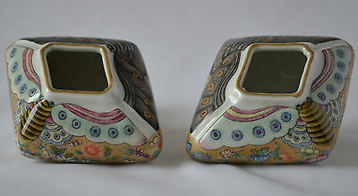 A pair Beautiful Chinese Famille Rose Porcelain brush washer