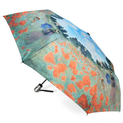 NEW Galleria Poppy Field Compact Umbrella
