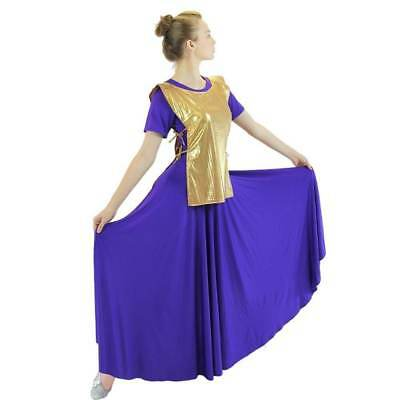 Danzcue Girls Praise Dance Polyester Ephod Dance Top