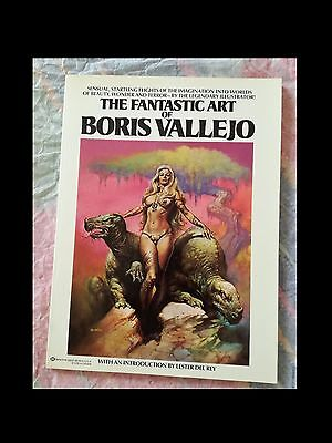 THE FANTASTIC ART OF BORIS VALLAJO del 1979