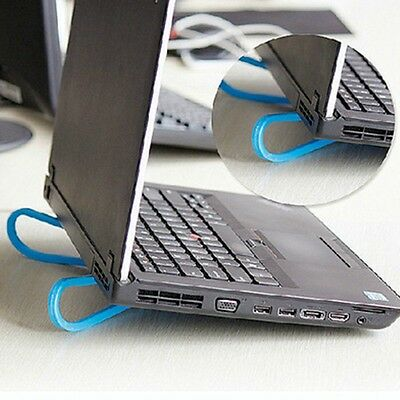 Portable Plastic Simple Laptop Notebook Cooling Cooler Stand Rack Holder Tool