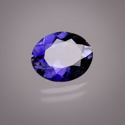 Iolite 10x8mm Oval ca. 2,20 Ct in IDAR-OBERSTEIN POLISHED