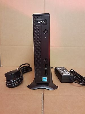 2017 Wyse Z50Qq Thin Client + Psu + Stand ( Quad Display ) 16Gbf / 4Gbr / Linux