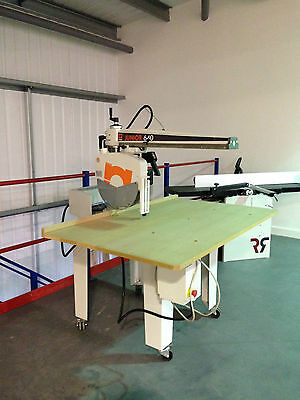 Maggi Junior 640 Radial Arm Saw Cross Cut £2600 + Vat