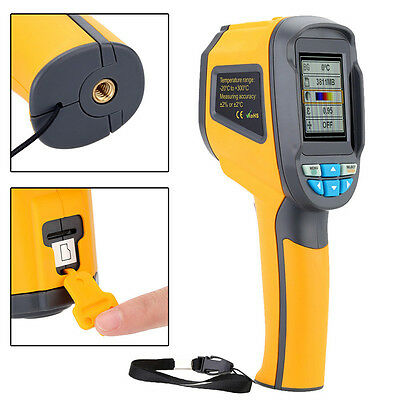 Handheld Thermal Imaging Camera HT-02 IR Infrared Thermometer Imager NEW US