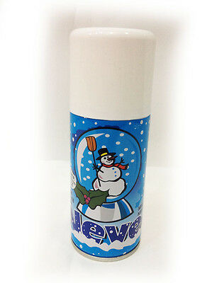 Neve Spray Natale Bianco Bomboletta 150ml