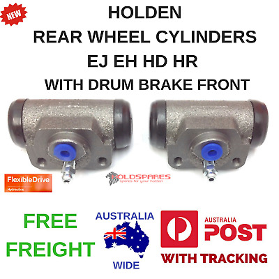 Holden New Rear Wheel Cylinders With Drum Brake Front Ej Eh Hd Hr