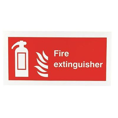 Safety Sign Fire Extinguisher Symbol 100x200mm Self-Adhesive F16D/S [SR71148]