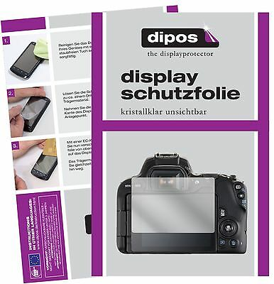 6x Canon EOS 200D Screen Protector Protection Crystal Clear dipos