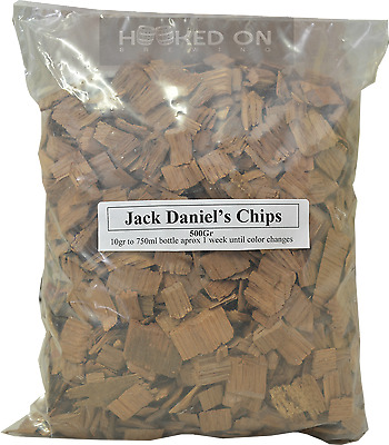 HOB JD Chips Oak - 500g - Bourbon Whisky Yeast Home Brew Spirits EZ