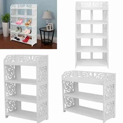 3/4/5 Tiers Storage Organizer Rack Stand Holder Unit Shelves Shoes/DVD/Book SA