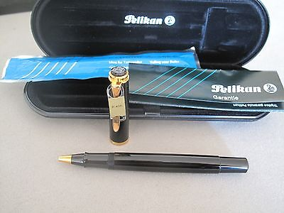 Vintage Pelikan K400 Rollerball Pen Mint New Old Stock With Boxes And Papers