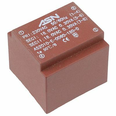 0-15V 0-15V 0.6VA 230V Encapsulated PCB Transformer