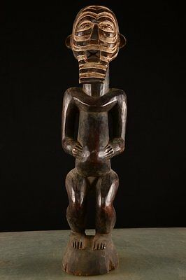 Old Tribal big Songye Figure Congo Africa Fes-0159
