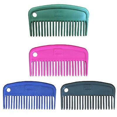 Beautiful and solid Horse Mane comb short made of Plastic in great colors
