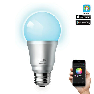 iLuv Rainbow 7 LED Colour Bluetooth Smart Bulb