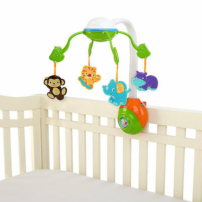 Bright Starts 2-in-1 Soothing Safari Cot Mobile
