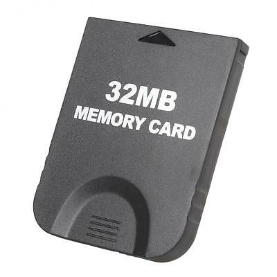 32MB Memory Card for Nintendo Gamecube/Wii Console System Storage GC