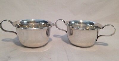 Lenox Sterling Silver Creamer Pitcher and Open Sugar Bowl Set 94