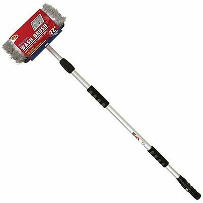 Car Wash Brush 72 Inch Telescoping Handle Truck Cleaning Tool Detailer's Choice