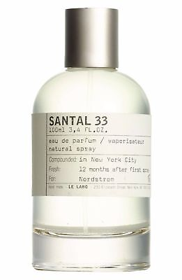 Le Labo Santal 33 (1,2,5,10,15 ml)  Mini Sizes ( Pick UR Size ) New compounded