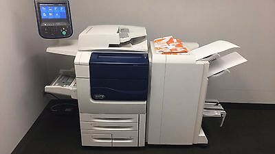 Xerox Color 560 with booklet maker, Bustle Fiery and Low Meter 158K!!