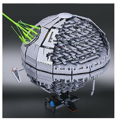 Brand New Death Star II 2 Star Wars Custom Compatible With Lego 10143 Sealed