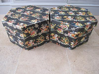 Vintage Collectable Hat Box Marshall and Snelgrove Excellent PAIR !!