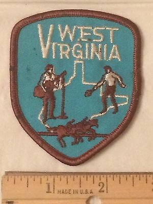 State of West Virginia Embroidered Souvenir Patch Badge