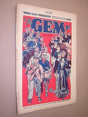 THE GEM. JUNE 29th 1935. SCHOOLBOY'S PAPER. COMIC. TOM MERRY OF ST. JIM'S etc.